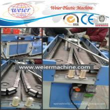 Extrudeuse à vis simple pour tubes à ondulation Tubes ondulés en plastique flexible faisant la machine