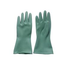 Green Butyl Working Glove for Anti-Acid, Alkali (JMC-320R)