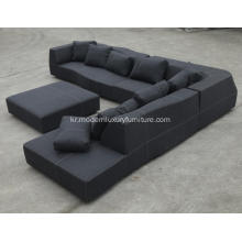 모듈 형 단면 원단 BB Italia Bend Sofa Reproduction