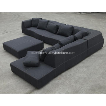 Modular Section Fabric BB Italia Bend Sofa Reproduction