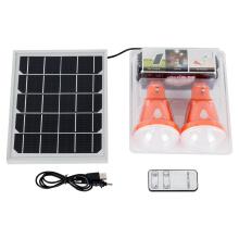 Système d'éclairage solaire d'urgence rechargeable multifonctionnel