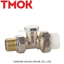 Brass return water PPR radiator propane angle temperature control valve