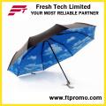 OEM Manual Open Folding Umbrella with Logo