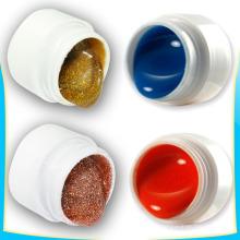 Стойкие к растворителям металлические блестящие кончики ногтей