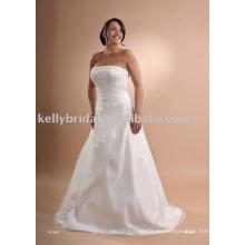 Moderno vestido de novia para la novia