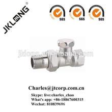 J3011 Messing-Stopp-Rückschlagventil mit vernickelt