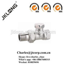 J3011 Brass Stop Backwater Valve with Nickel Plated
