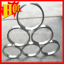Forged Grade 2 ASTM B381 Titanium Rings for Industrial Use