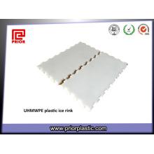 Polyethylen-Blatt mit hoher Dichte, das UHMWPE-Brett schneidet