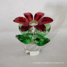 Kristallglas Dekoration Sonnenblume Hochzeit Blumen