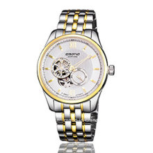 Stainless Steel Automatic Perspective Business Men Watch