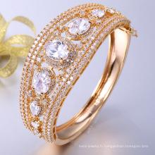 Accessoires de bracelet de mode en or 18 carats personnalisés