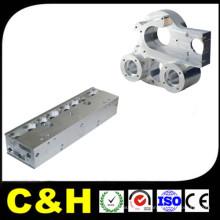 Custom Precision aço CNC alumínio usinagem / peças da máquina de moagem