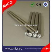 металлической оболочкой кабеля термопары