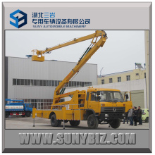 Dongfeng 20 Meter Hydraulic Articulated Booms Aerial Bucket Truck