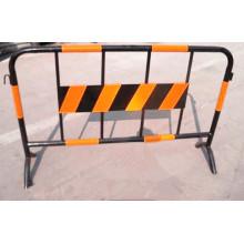 Isolement temporaire de barrière de contrôle de foule de barrière de circulation