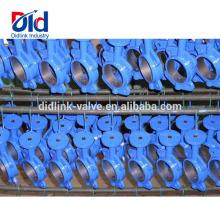 50мм 80мм Замена рукоятки из ковкого чугуна Размер 18 Flowserve Вафельный клапан-бабочка