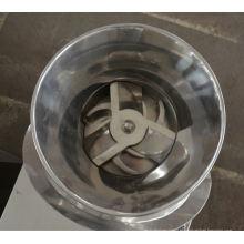 2017 granulador revolvendo da série de ZL, projeto do granulador do cilindro giratório dos SS, lâminas horizontais do granulador plástico