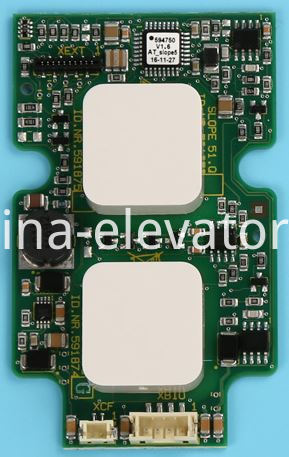 Schindler Elevator LOP Button Board 591874