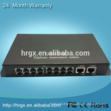 Lowest Price and High Quality Audio To Fiber Converter 8 channel Telephone Optical Converter
