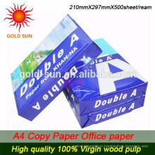 HOT SALE !!! double a a4 copy paper 80gsm 75gsm 70gsm
