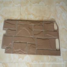 painéis de parede de pedra de plástico molde de injeção de plástico