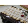 50cm Long Lace Gold/Silver PVC Vinyl Crochet Tablecloth