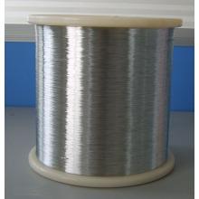 Alambre de acero inoxidable suave y brillante 0.4mm para tejer