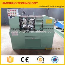 Máquina de rosquear hidráulica de dois eixos para parafusos, hastes de aço