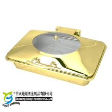 Rectangle Chafing Dish with Spring Legs for Buffet