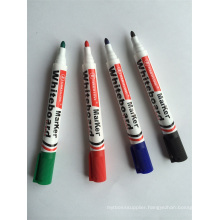 High Quality 4 Colors Round Tip Dry Eraser Marker Pen