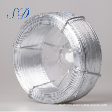 2.7 Mm 0.22mm High Quality Galvanized Steel Flat Wire For Fencing
