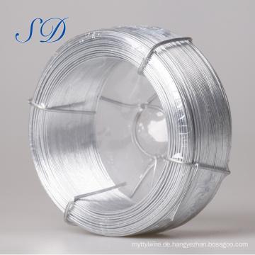 2,7 Mm 0,22 mm Hochwertiger Galvanisierter Stahlflachdraht zum Fechten