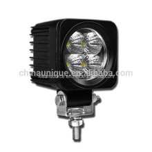 12W Square LED Work Lights for Tractors and Vehicles