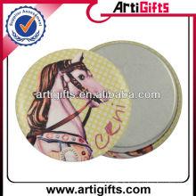 Insigne de bouton de broche en métal magnétique design animal