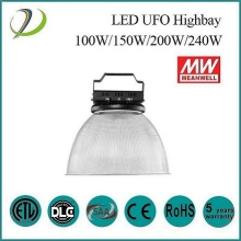 130lm/w ufo led high bay light 200w
