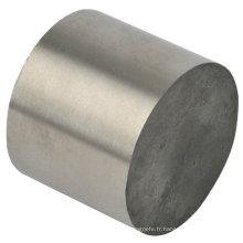 Cylindre de NdFeB aimanté sans placage
