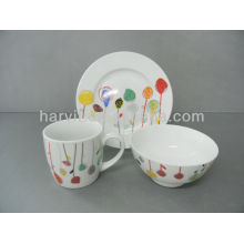 Children Breakfast Sets Ceramic Tableware