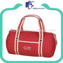 Hot selling polyester sports duffle bag polyester travel bag