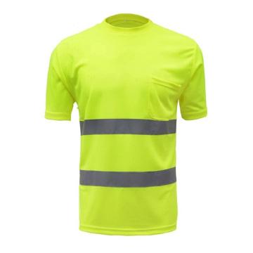 Short Sleeve Work Reflective Safety T-Shirts
