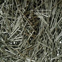 Кольцевой Поток Кольцо Хвостовика Ногти Горячие Гальванизированные Гвозди Фабрики Китая