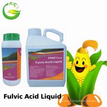 Adubo orgânico do ácido húmico do adubo líquido preto
