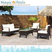 Wood Sofa Set/Garden Furniture/ Patio Sofa Set/ Wicker Rattan Outdoor Furniture/Teak Sofa Set
