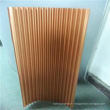 Cœurs en aluminium, noyaux en aluminium ondulé pour plafonds