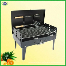 Parrilla de carbón plegable portátil para comidas al aire libre, fiestas, camping