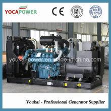 Doosan motor 330kw elétrico gerador diesel conjunto com painel de controle automático