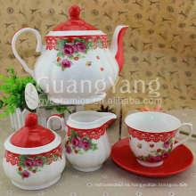 Juegos de taza de té de esmalte ecológico