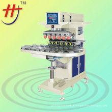 Hengjin precise 6 color Disney ball conveyo tampo printer