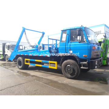 Dongfeng 5 Cube Compactor Garbage Truck Price