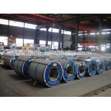 bobina de acero inoxidable revestido galvanizado / coloreado en (GI / GL / PPGI / PPGL) galvanizado